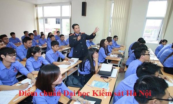 Điểm chuẩn Đại học Kiểm sát Hà Nội
