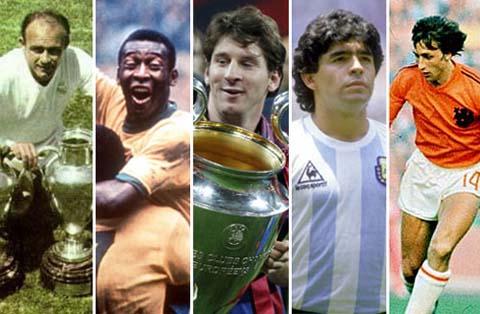 Huyền thoại bóng đá thế giới