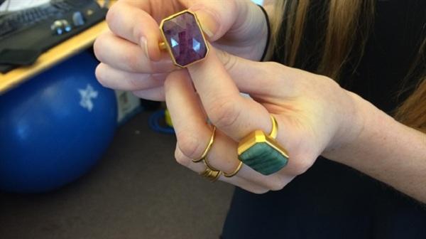 Nhẫn Ringly đồ trang sức độc đáo, tích hợp nhiều tính năng
