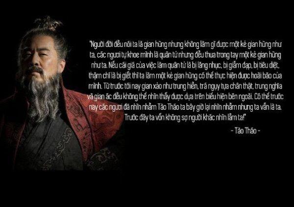 Những câu nói bất hủ của Tào Tháo