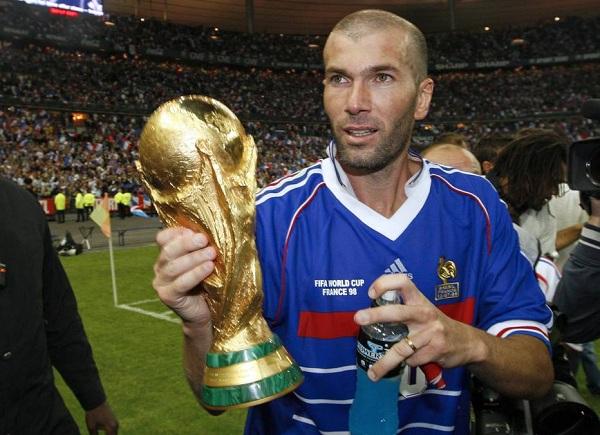 Zidanehuyền thoại bóng đá thế giới