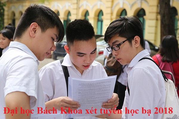 Đại học Bách khoa xét tuyển học bạ THPT