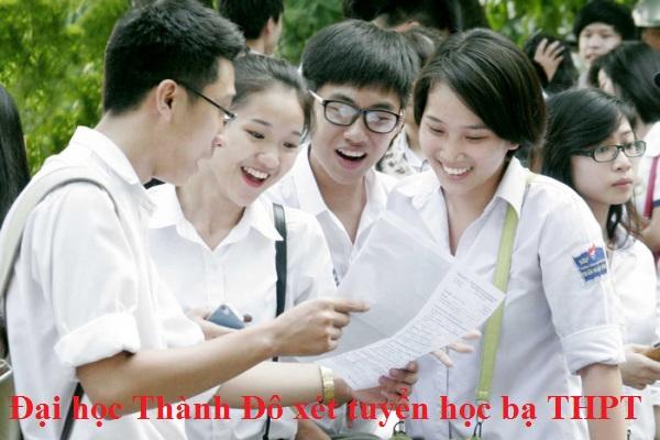 Đại học Thành Đô xét tuyển học bạ THPT