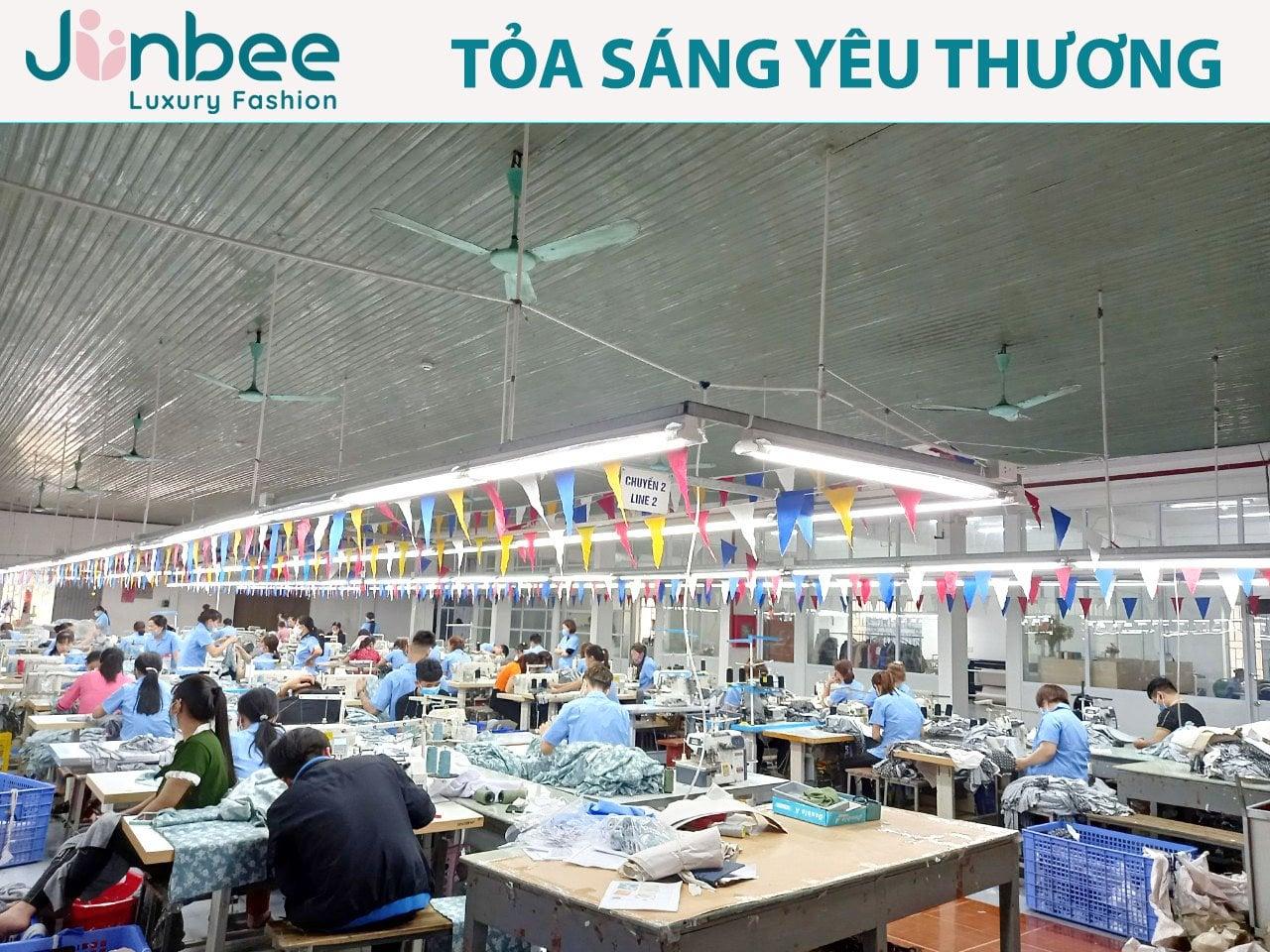 Xưởng sản xuất Junbee