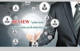7 phần mềm quản trị nhân sự tốt